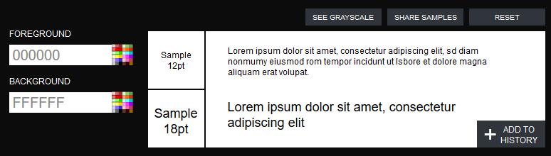 Kontrast Checker