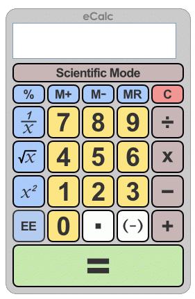 Online Taschenrechner mit diversen Funktionen