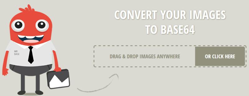 Bild in Base64 Konvertierer