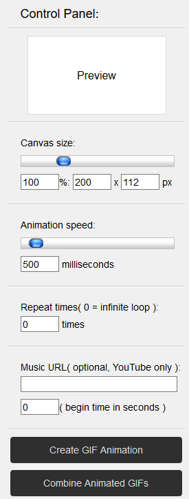 Animierte GIF-Dateien Tool