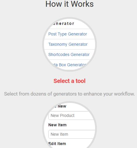 Code-Generatoren für WordPress
