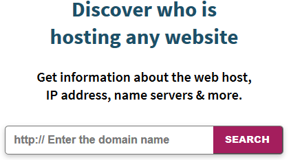 Whois Hosting This
