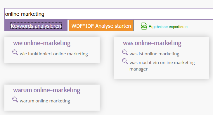 W-Fragen-Tool
