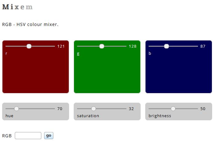Farben mixen