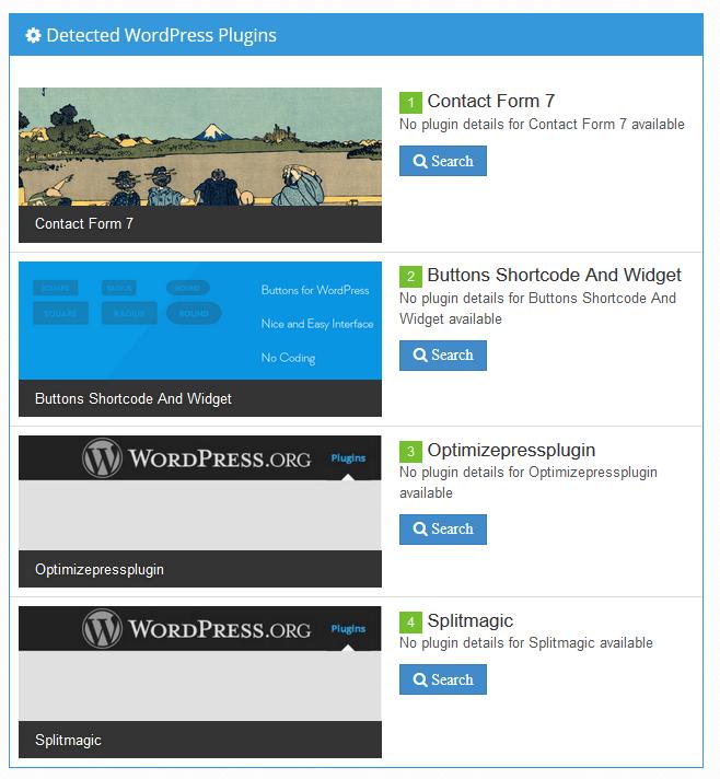 Welches Theme verwendet eine WordPress-Installation?