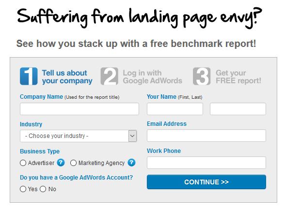 Google Ads Landing Page Grader