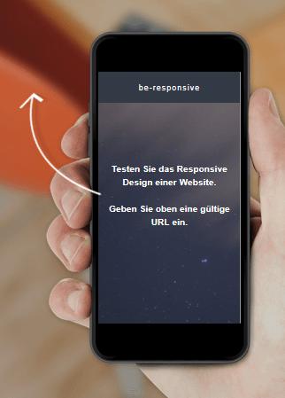 Website-Check für responsives Design