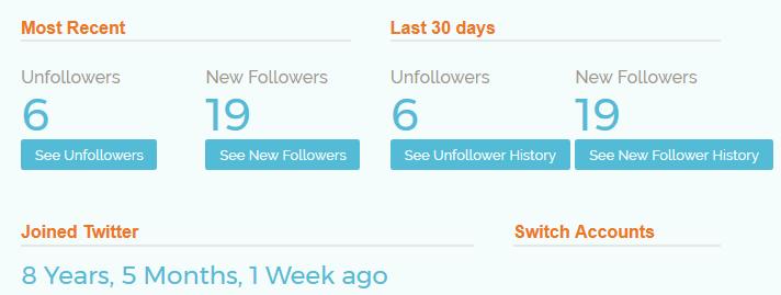 Wer folgt mir nicht mehr bei Twitter?