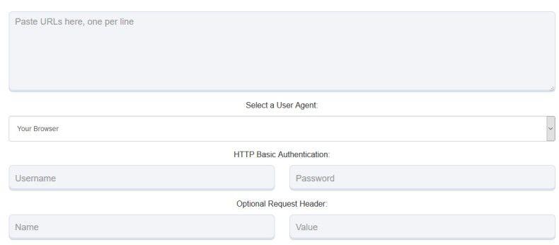 Check Server HTTP Status Code