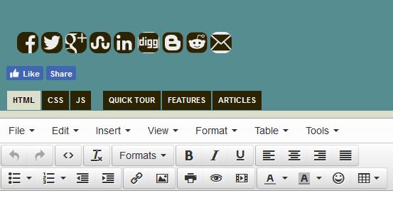 HTML Online Editor