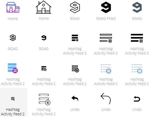 Icons, soweit das Auge reicht