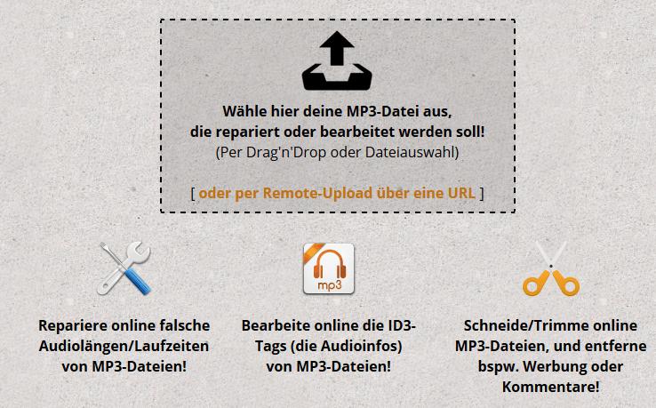 MP3-Dateien reparieren