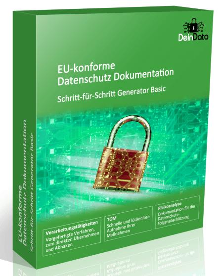 Generator für die Datenschutzdokumentation nach DSGVO
