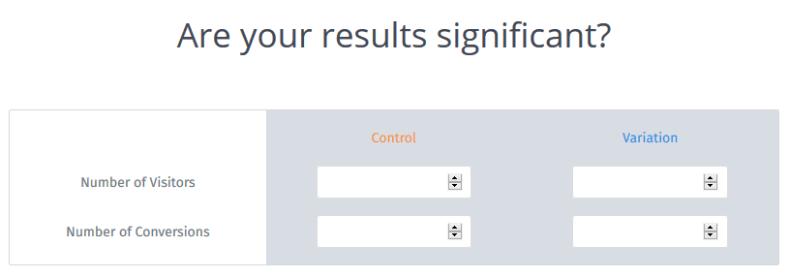 A/B-Split-Test Signifikanzrechner