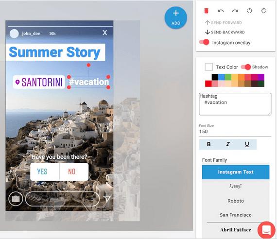 Instagram Stories erstellen