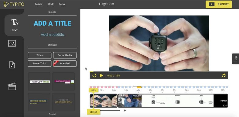 Create stunning text videos for marketing