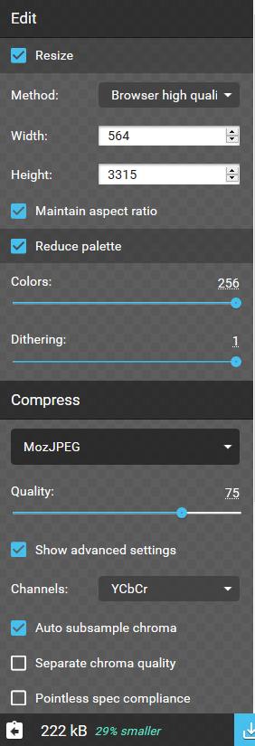 Bilder fürs Web optimieren