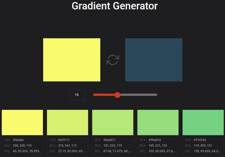 Der Gradient Generator
