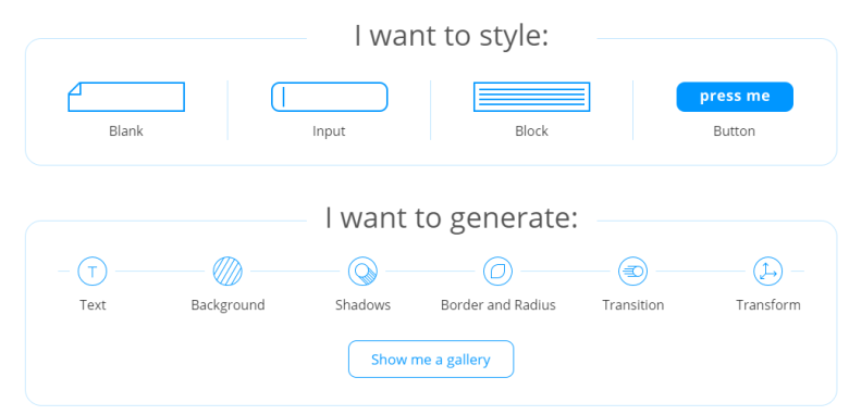Genüsslicher CSS Generator