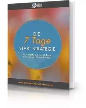 E-Book Die 7 Tage Start Strategie