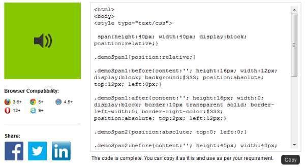 CSS-Sonderzeichen