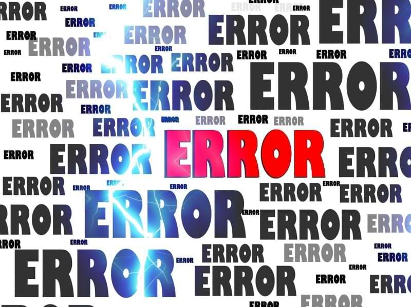 Was bedeutet die Fehlermeldung 404?