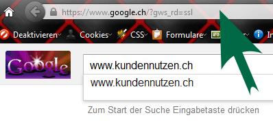 Google Fehler vermeiden